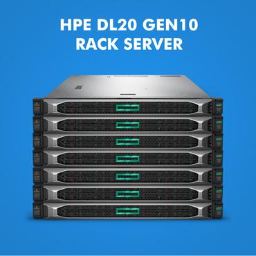 HPE ProLiant DL20 Gen10 Rack Server