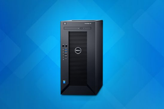 Get more done with less time Dell PowerEdge T30