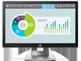 HP EliteDisplay E202 20 inch Monitor