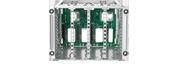 HPE DL380 Gen10 Box1 2 Cage Back plan Kit
